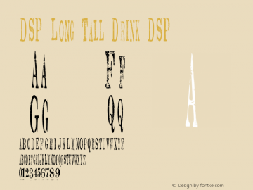 DSP Long Tall Drink