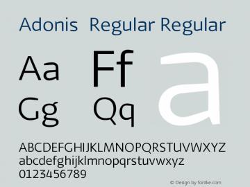 Adonis-Regular