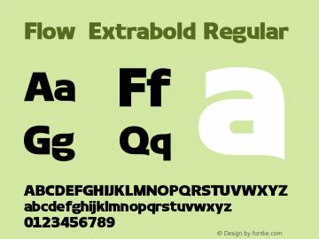 Flow-Extrabold