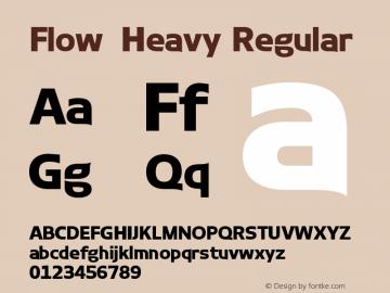 Flow-Heavy