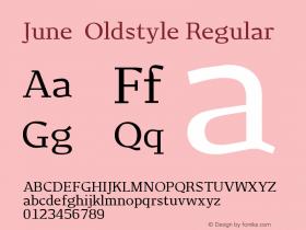 June-Oldstyle