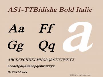 AS1-TTBidisha