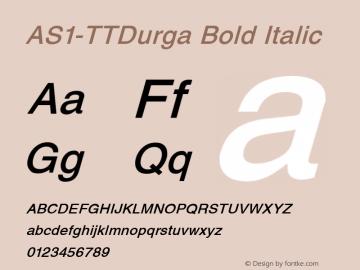 AS1-TTDurga