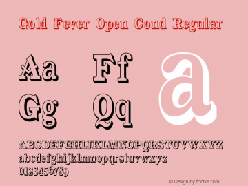 Gold Fever Open Cond