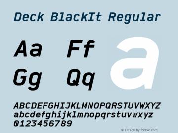 Deck BlackIt