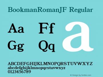 BookmanRomanJF