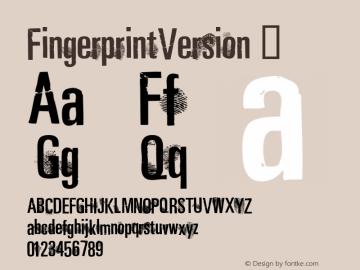 FingerprintVersion