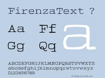 FirenzaText