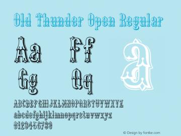Old Thunder Open