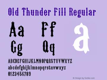 Old Thunder Fill