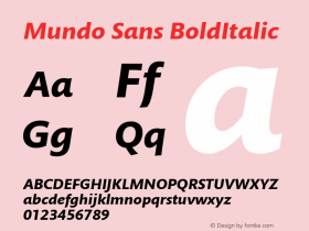 Mundo Sans