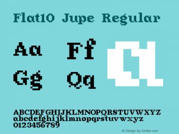 Flat10 Jupe