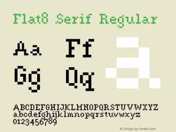 Flat8 Serif
