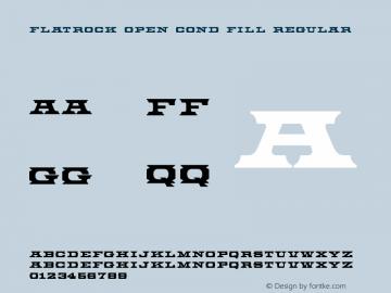 Flatrock Open Cond Fill