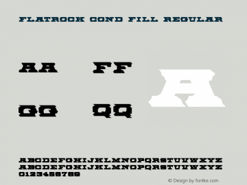 Flatrock Cond Fill