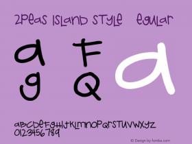 2peas island style