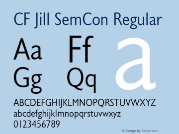 CF Jill SemCon