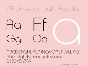 PF Universal Light