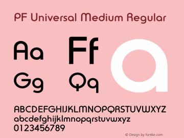 PF Universal Medium