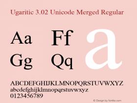 Ugaritic Unicode Merged