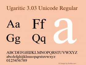 Ugaritic Unicode