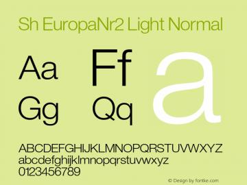 Sh EuropaNr2 Light