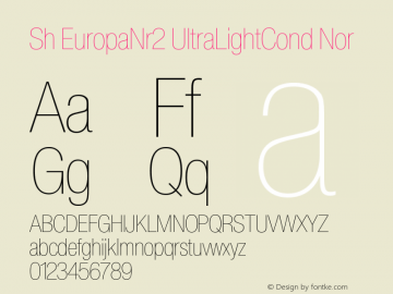 Sh EuropaNr2 UltraLightCond
