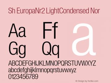 Sh EuropaNr2 LightCondensed
