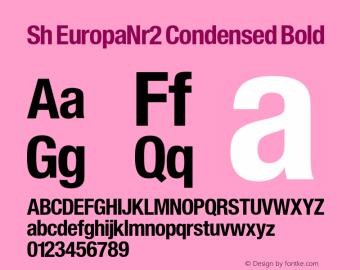 Sh EuropaNr2 Condensed
