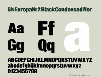 Sh EuropaNr2 BlackCondensed