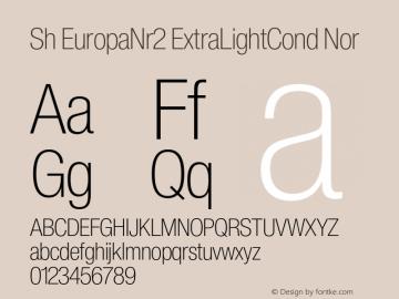 Sh EuropaNr2 ExtraLightCond