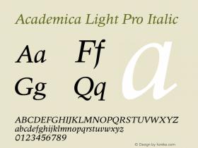 Academica Light Pro