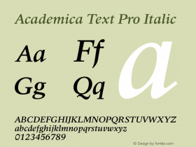 Academica Text Pro