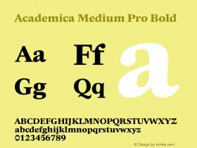 Academica Medium Pro