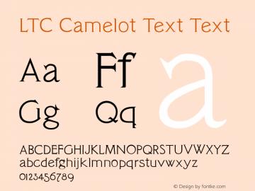 LTC Camelot Text