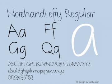 NotehandLefty