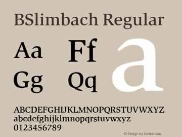 BSlimbach