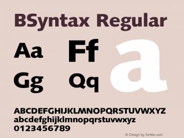 BSyntax