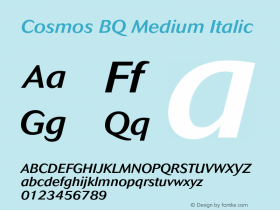 Cosmos BQ Medium