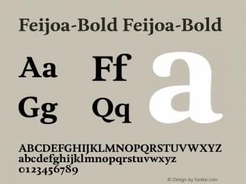 Feijoa-Bold