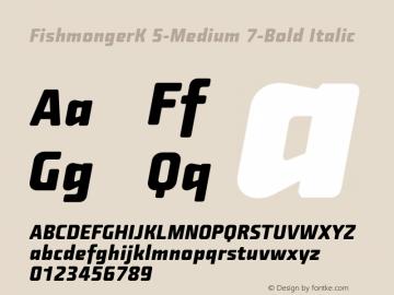 FishmongerK 5-Medium 7-Bold