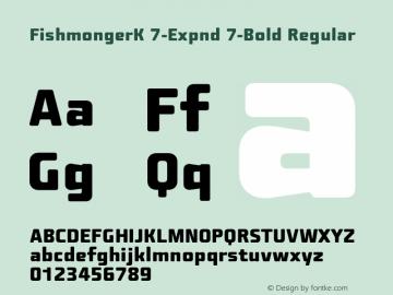 FishmongerK 7-Expnd 7-Bold