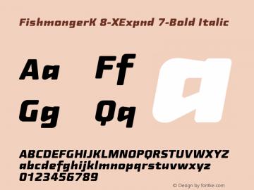 FishmongerK 8-XExpnd 7-Bold