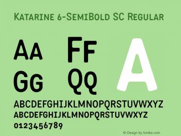 Katarine 6-SemiBold SC