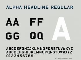 Alpha Headline