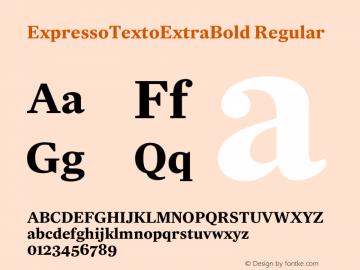 ExpressoTextoExtraBold