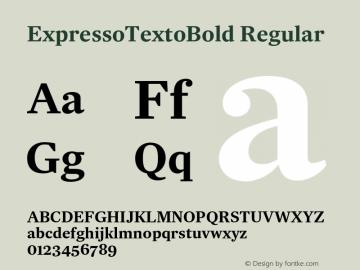 ExpressoTextoBold
