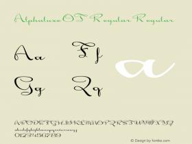 Alphaluxe OT Regular