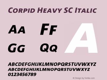 Corpid Heavy SC