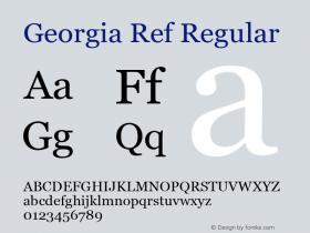 Georgia Ref